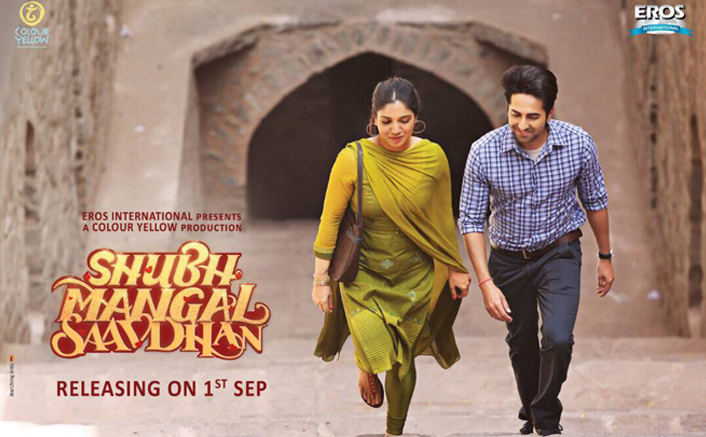 full cast and crew of Bollywood movie Shubh Mangal Saavdhan 2017 wiki, Ayushmann Khurrana, Bhumi Pednekar Shubh Mangal Saavdhan story, release date, Shubh Mangal Saavdhan wikipedia Actress name poster, trailer, Video, News, Photos, Wallpaper