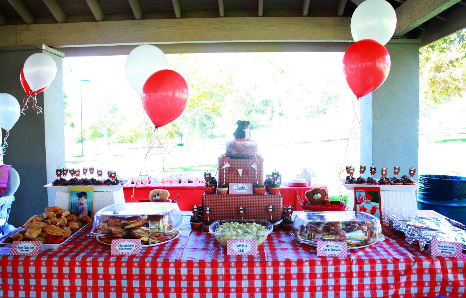 Macdonald's Playland : Lilly's 1st Birthday Party - Teddy ...