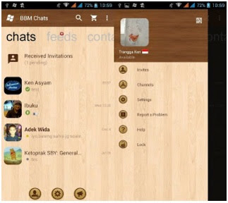 BBM Mod Style Windows Phone v2.12.0.9 Apk