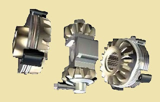 Applications of Center differential with mechanical lock.