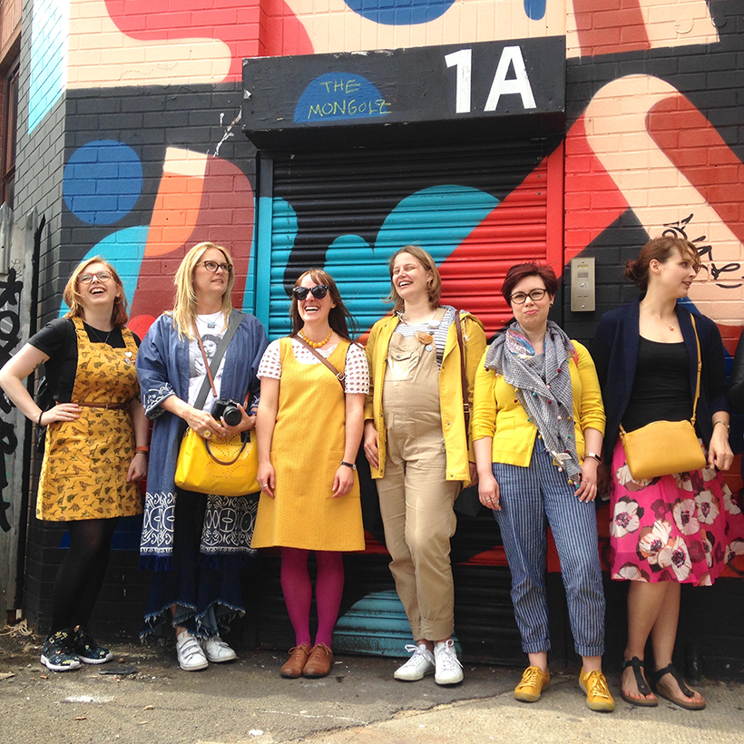 Blogtacular 2017 Photowalk. Photo in Shoreditch and taken by Joanna Payne from creative lifestyle blog, Adventures & Tea Parties