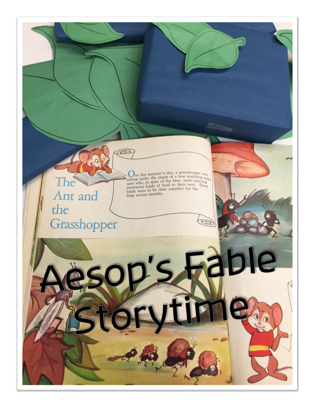 Aesops The Ant And The Grasshopper Storytime