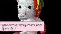 http://aramelaartesanias.blogspot.com.ar/2017/04/patron-unicornio-amigurumi-mini.html