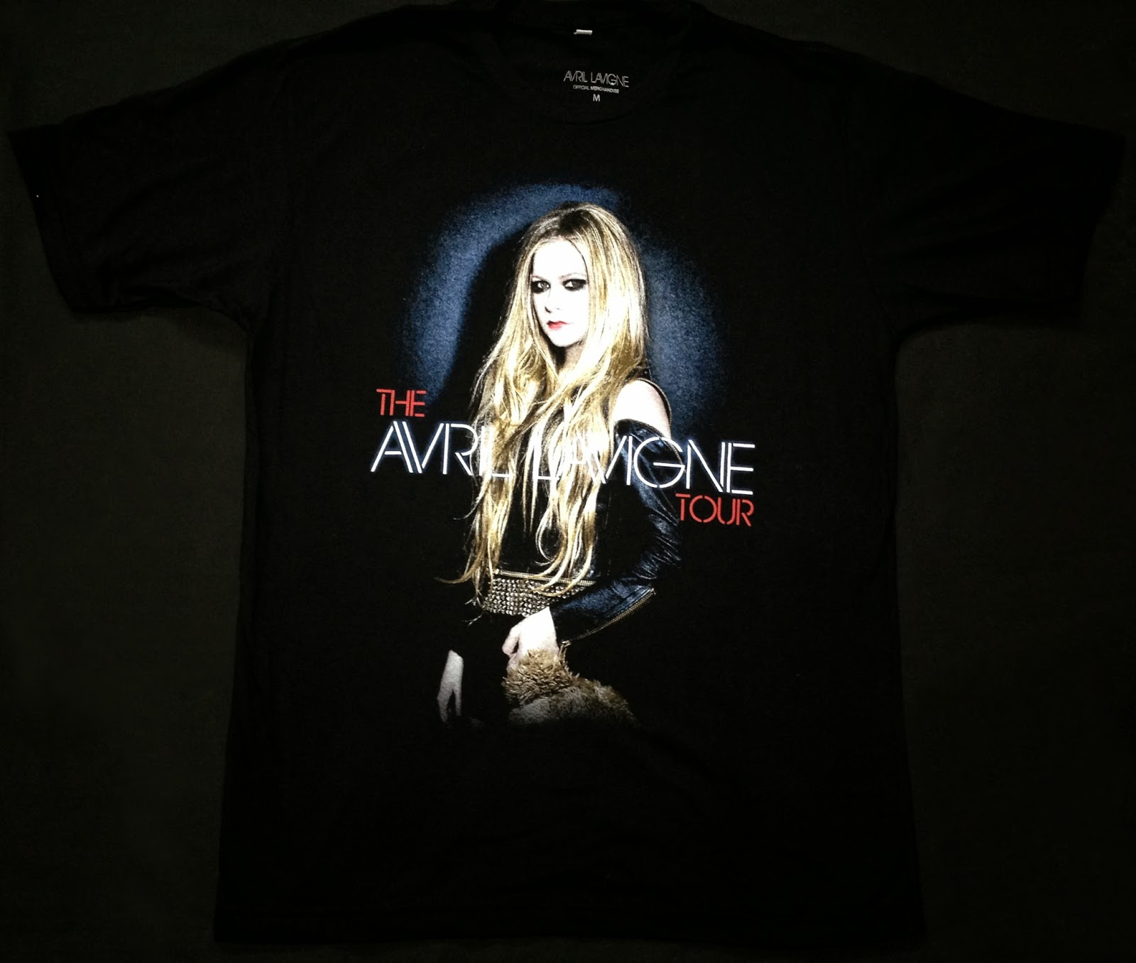 Avril Lavigne Tour T Shirt