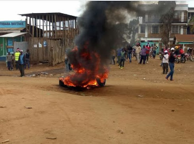 Laare Jubilee-NASA supporters clash. PHOTO | FILE