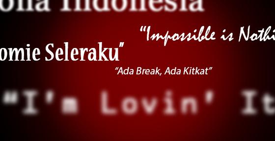 contoh daftar slogan semboyan tagline perusahaan merek brand terbaik indonesia dunia nasional internasional terkenal toko online shop arti makna pengertian definisi cara memilih membuat mudah diingat gampang sukses hoki keberuntungan berkah barokah islami