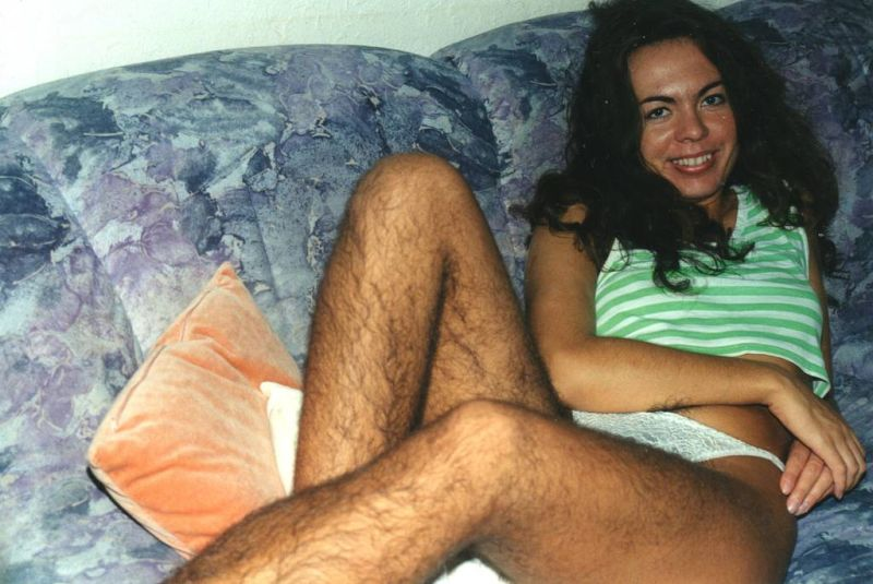 Women with hairy legs porn