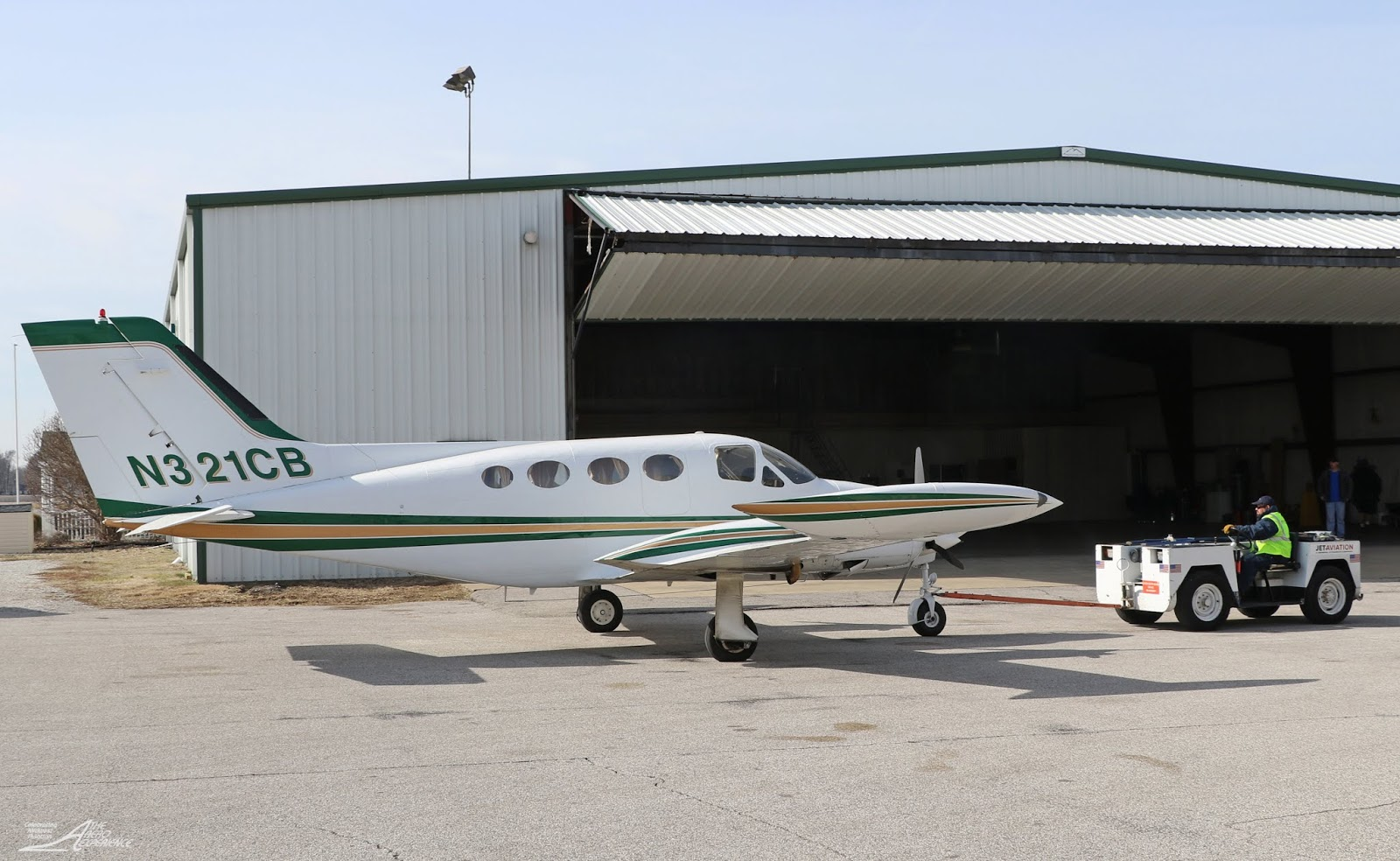 BIG RIVER AVIATION SETTLES INTO LARGER FACILITY: A DAY IN