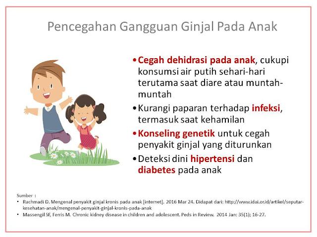 mencegah gangguan ginjal pada anak dengan cukupi asupan air putih