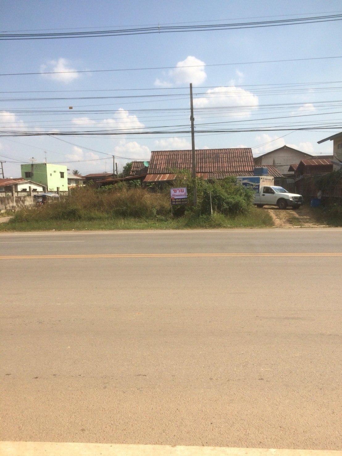 ขายที่ดินเปล่า ถนนบายพาสธาตุพนม