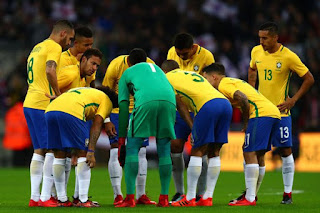 Sport: Brazil coach names 15 players for 2018 World Cup [See list]