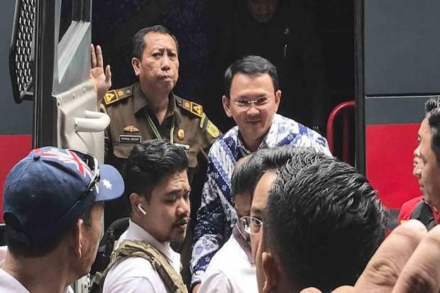 Jenguk Ahok, Rombongan Plt Gubernur DKI Akibatkan Macet Parah