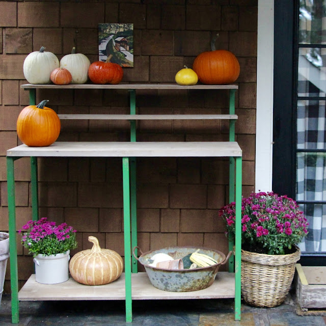 ~simple fall porch design~
