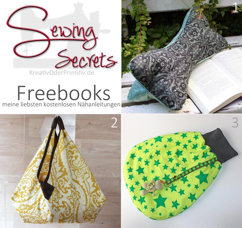 kreativ oder primitiv sewing secrets freebooks. Black Bedroom Furniture Sets. Home Design Ideas