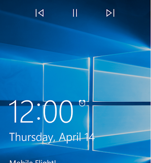 Layar Kunci Windows 10