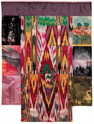 samarkand stitches robert Rauschenberg, textile tours uzbekistan, uzbekistan art craft small group tours