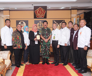 Panglima TNI Terima Audiensi Koordinator Kopertis Wilayah III