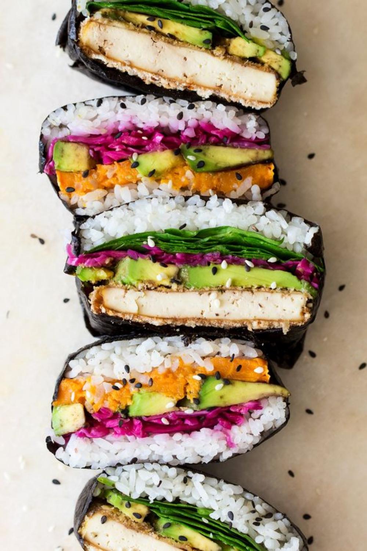 Sushi Sandwich - der beste Snack für unterwegs!