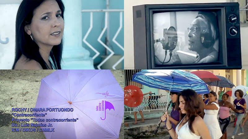 Rochy Ameneiro y Omara Portuondo - ¨Contracorriente¨ - Videoclip - Director: Luis Najmías Jr. Portal Del Vídeo Clip Cubano