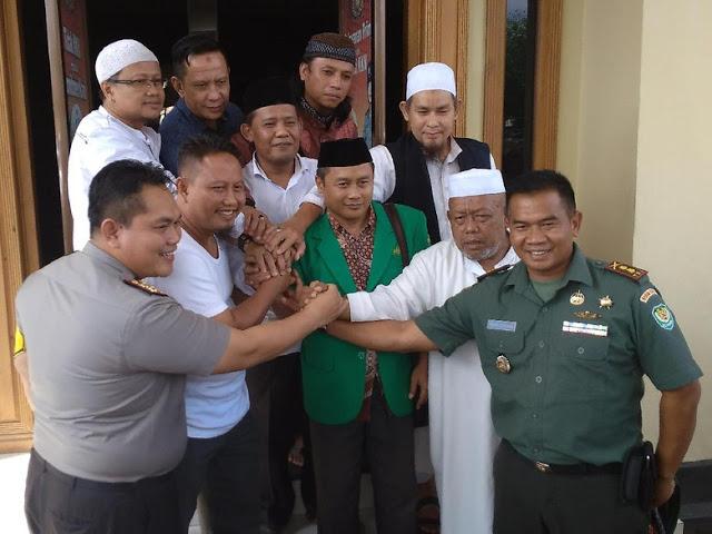 Alhamdulillah Pasca Penolakan Bachtiar Nasir, NU-FPI di Cirebon Sepakat Damai