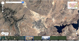 برنامج Google Earth timelapse