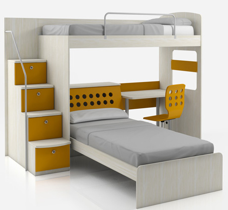 Camas cuchetas bunk beds by cama for Ideas de camas