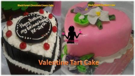 Kue Tart Valentine untuk Pacar