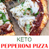 Eаѕу Kеtо Pepperoni Pizza