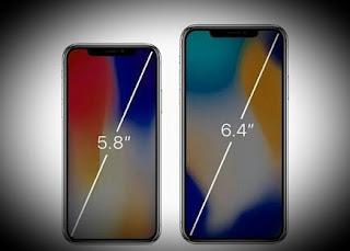 Layar iPhone X kini hadir dengan besar