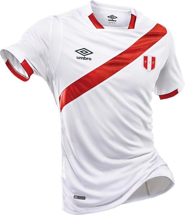 Umbro lança nova camisa titular da seleção do Peru - Show de Camisas 8c01cf295ca3c