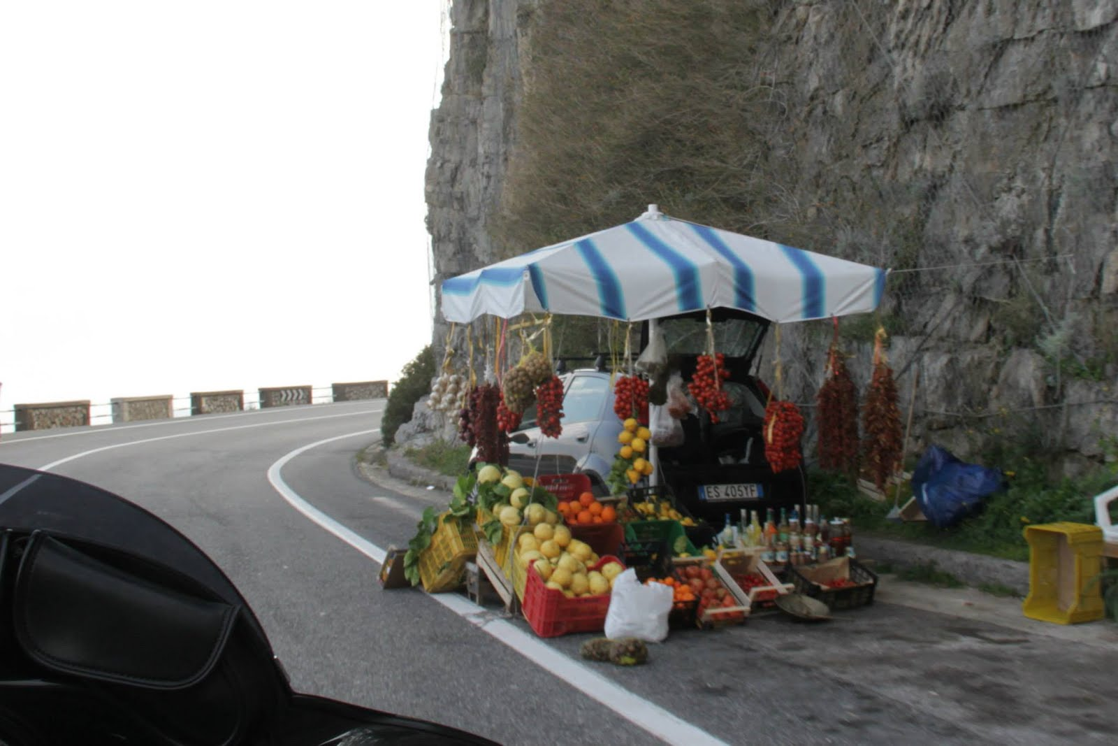 Fruit Vendor on the Amalfi Coast
