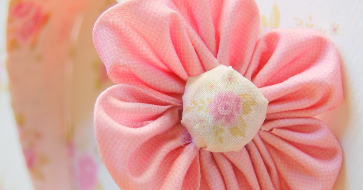 Fun eastercrafts adhesive fabric paper flowers tutorial for Handmade paper flowers tutorial