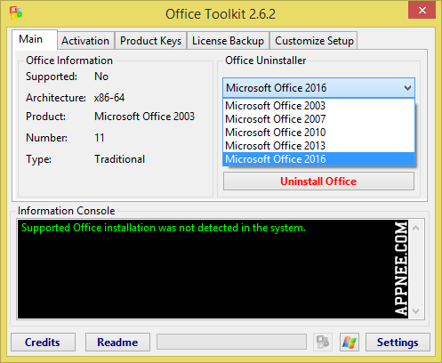 microsoft office 2010 all version activation toolkit program