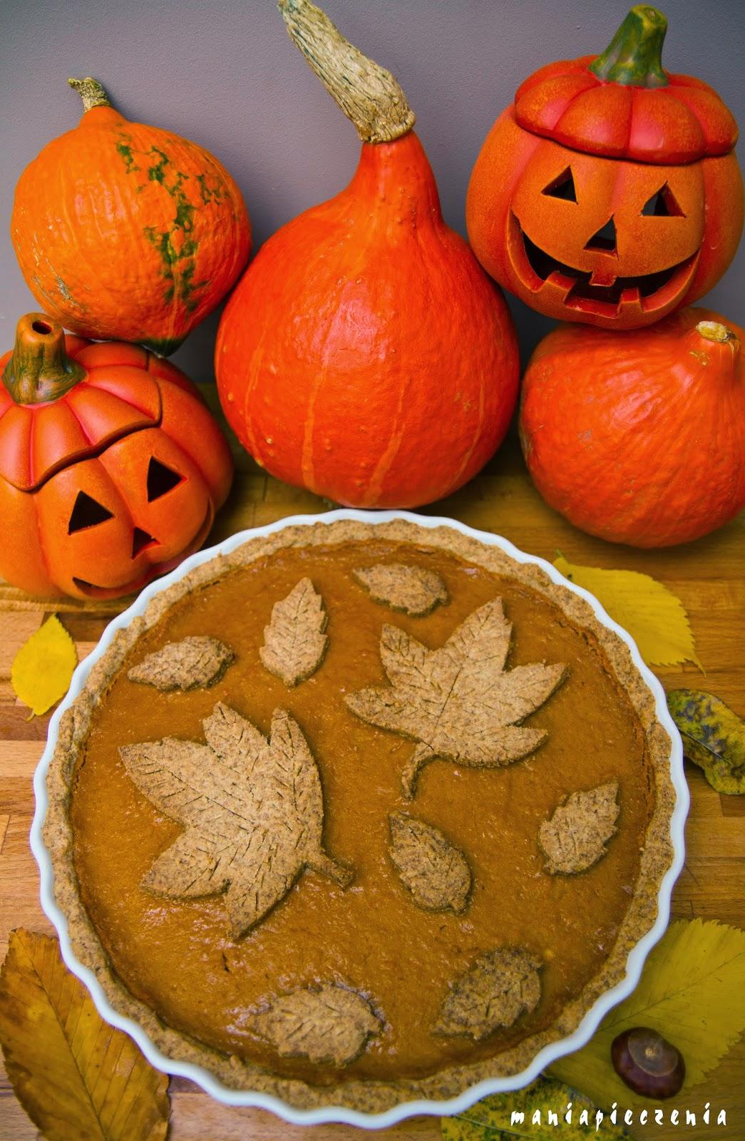 Pumpkin Pie czyli amerykanski placek dyniowy