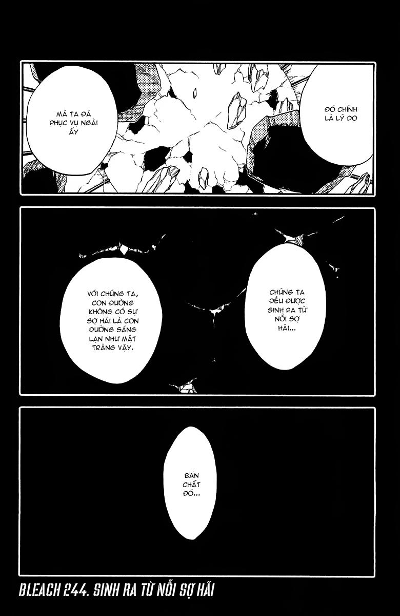 Bleach chapter 244 trang 7