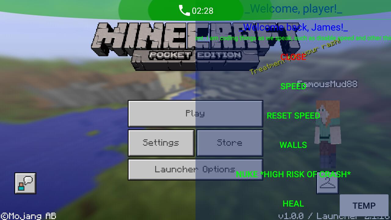 Minecraft Android SkidClient Hack | Minecraft Pocket ...