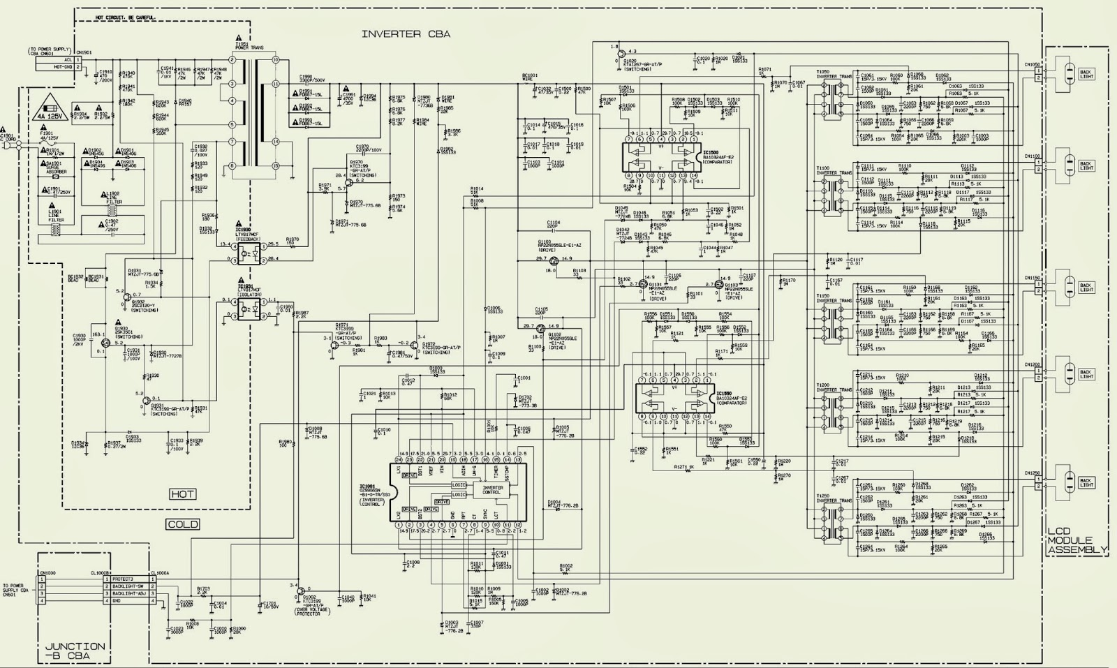 Emerson Ups Circuit Diagram Free Wiring For You Liebert Schematics Lc320em9 Power Supply Back Light Inverter Drawing Electrical Schematic Diagrams