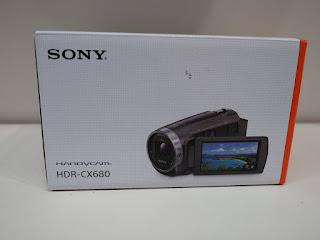 ソニーハンディカムビデオカメラ HDR-CX680 新品を買い取り致しました