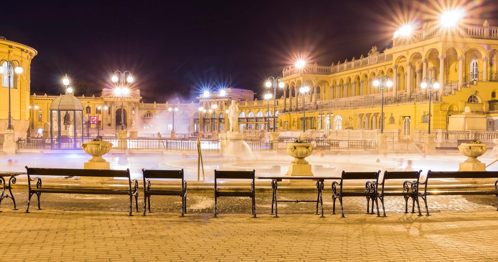 Budapest bain szechenyi