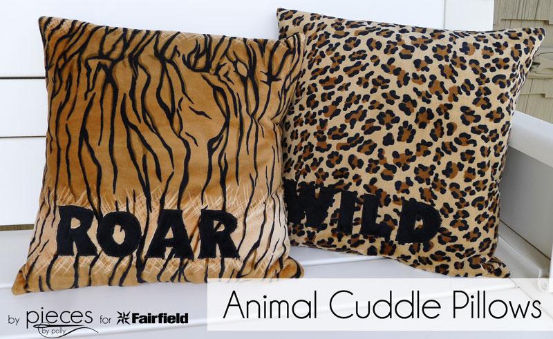 2193052b16 Go Wild with Animal Print Cuddle Pillows