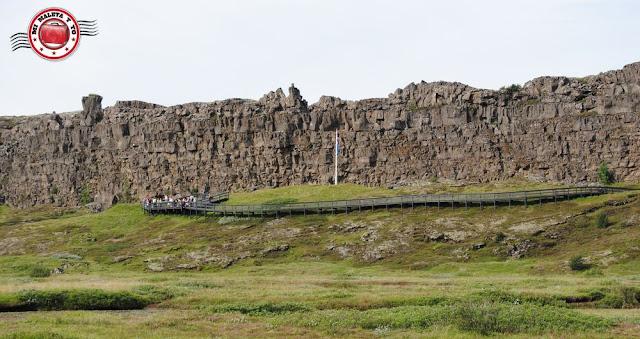 Þingvellir - Lögberg o roca de la ley