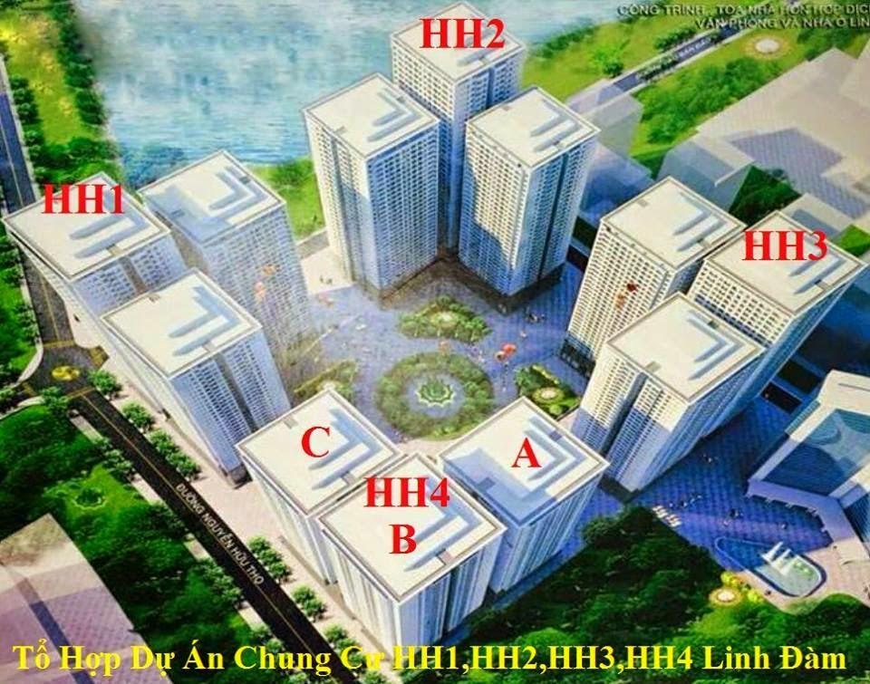 Trực tiếp phân phối bán chung cư HH1 HH2 HH3 HH4 Linh Đàm - Giá sốc - Hỗ trợ vay vốn