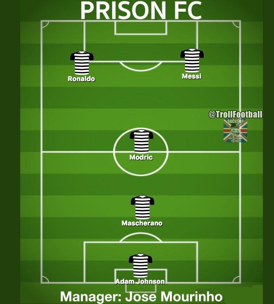 El nuevo equipo de La Liga: Prisión FC