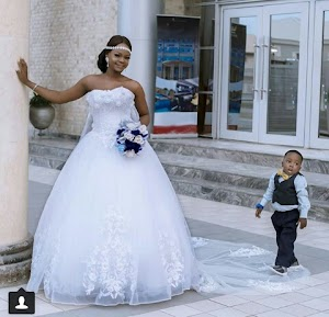 Less Privileged Little Oluwatobiloba Falana Photo bombed Wedding Shoots With  Super Model Olajumoke Gets The Little Boy A Modeling Deal (See Pics)