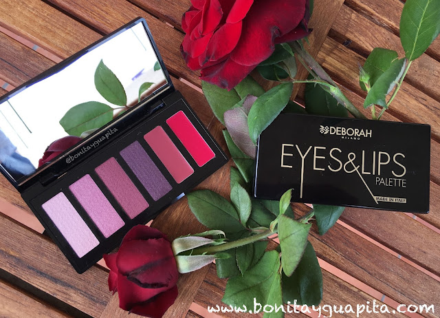 eyes & lips palette deborah