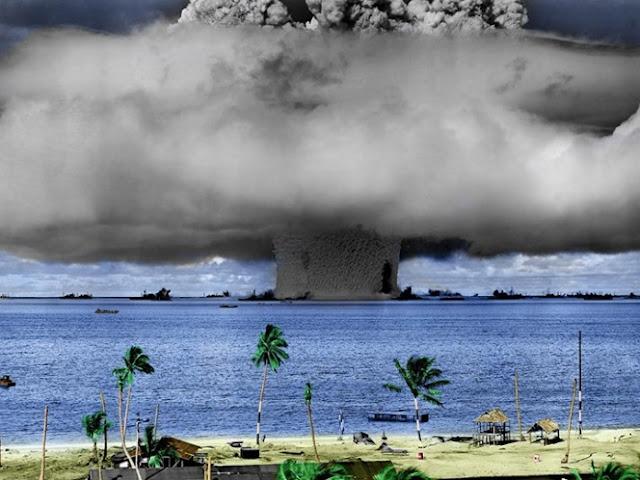 ¿Qué pasaría si Norcorea lanza una bomba de hidrógeno al mar?