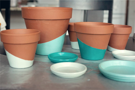 vaso de cerâmica, vaso pintado, terracota pot, faça você mesmo, diy, vaso de cerâmica pintado