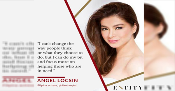 This Is The Reason Why Angel Locsin Is The Real Epitome Of Beauty! Read This!