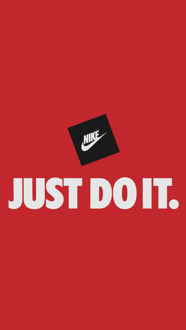 Nike Just Do It Red Iphone 5 Wallpaper Pocket Walls