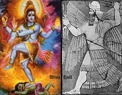 Shiva Enlil Intervenţia Zeilor Acum 455.000 De Ani - Ninharsag, Enlil Si Enki - Atlantida Si Lemuria